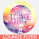 Sunset Lounge Flyer - GraphicRiver Item for Sale