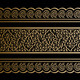 Gold Borders on Black - GraphicRiver Item for Sale