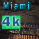 Miami Skyline at Night - VideoHive Item for Sale