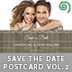 Save The Date Postcard | Vol. 2 - GraphicRiver Item for Sale