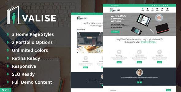 Valise – Agency / Personal Portfolio Theme