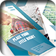 Striped Trifold Brochure - GraphicRiver Item for Sale