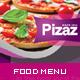 Modern Restaurant and Food Menu Flyer - GraphicRiver Item for Sale