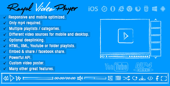 Royal Video Player - CodeCanyon Item for Sale