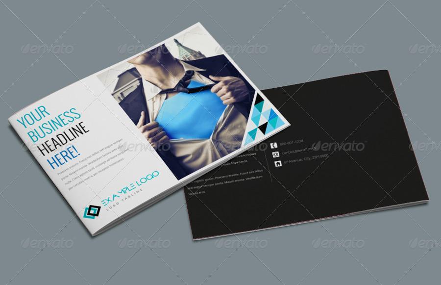 A Landscape Brochure Template By Pmvch GraphicRiver - Landscape brochure template