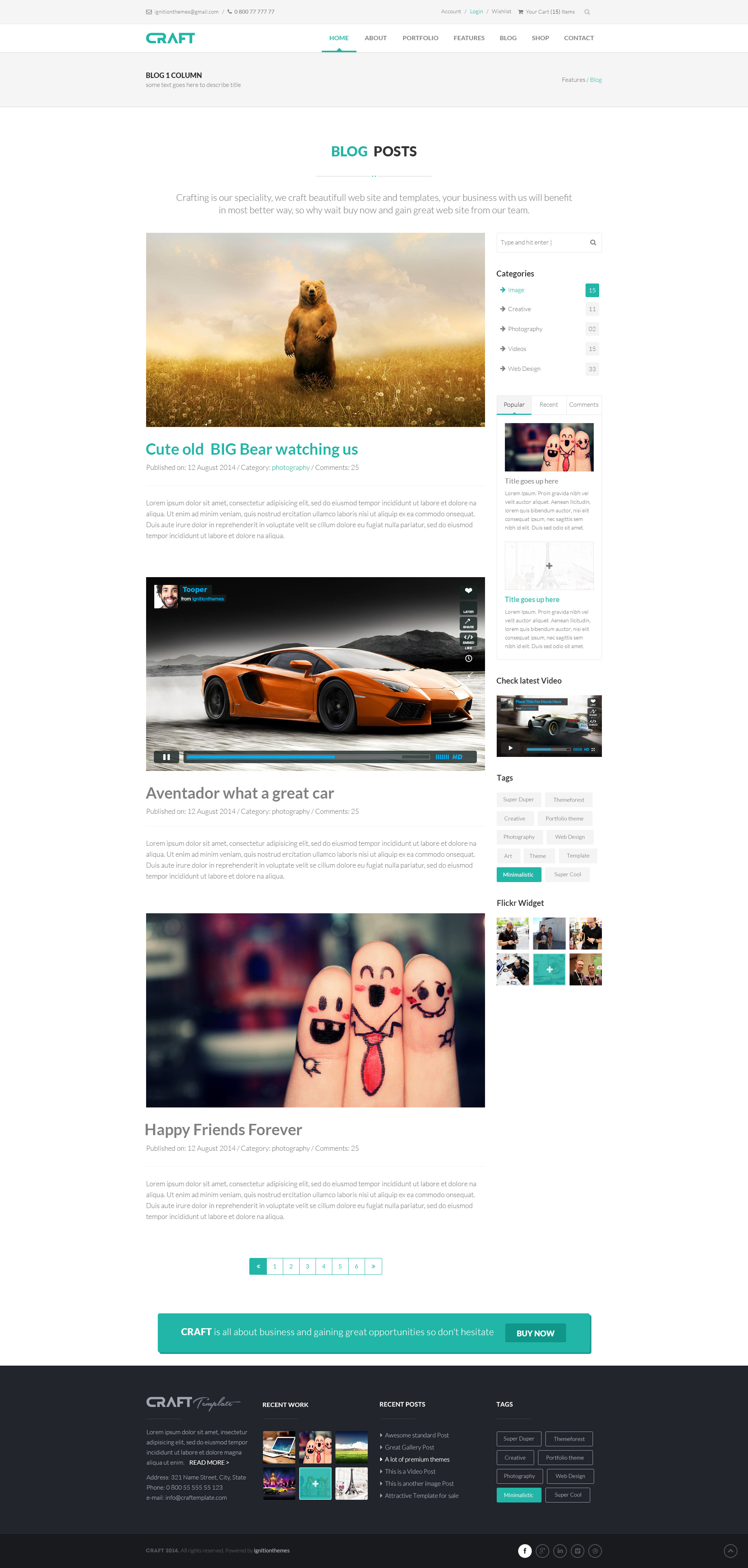 2 Column Website Template Virtren Com