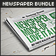 Newspaper Mock-up Bundle - GraphicRiver Item for Sale