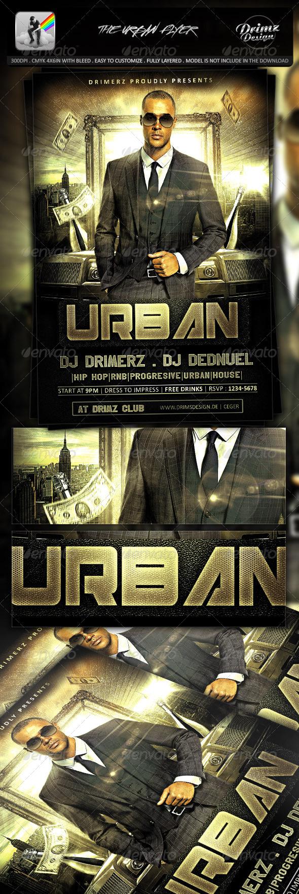 The Urban Flyer - Events Flyers