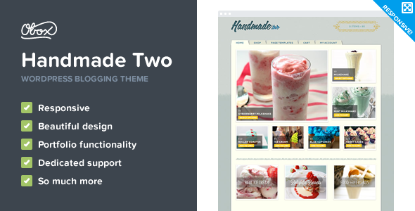 Handmade Two – eCommerce WordPress Theme