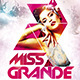 Miss Grande Flyer Template PSD - GraphicRiver Item for Sale