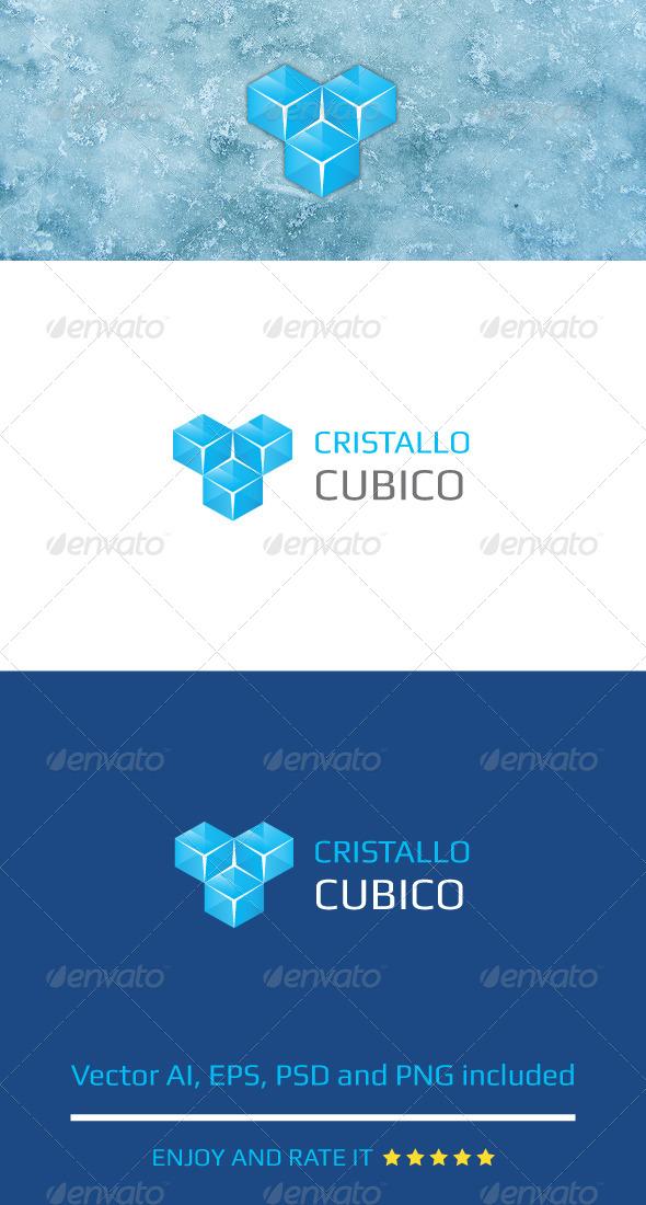 Cristallo Cubico - Abstract Logo Templates