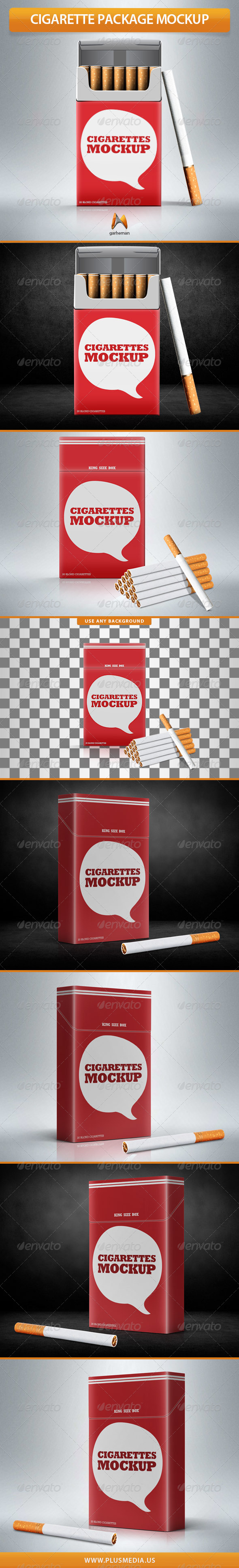 Cigarette Package Mock-Up