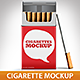 Cigarette Package Mock-Up
