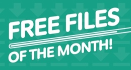 Envato Marketplaces Free Files of the Month - April 2014