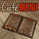 Cafe & Bar Menu - GraphicRiver Item for Sale