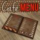 Cafe & Bar Menu - GraphicRiver Item for Sale