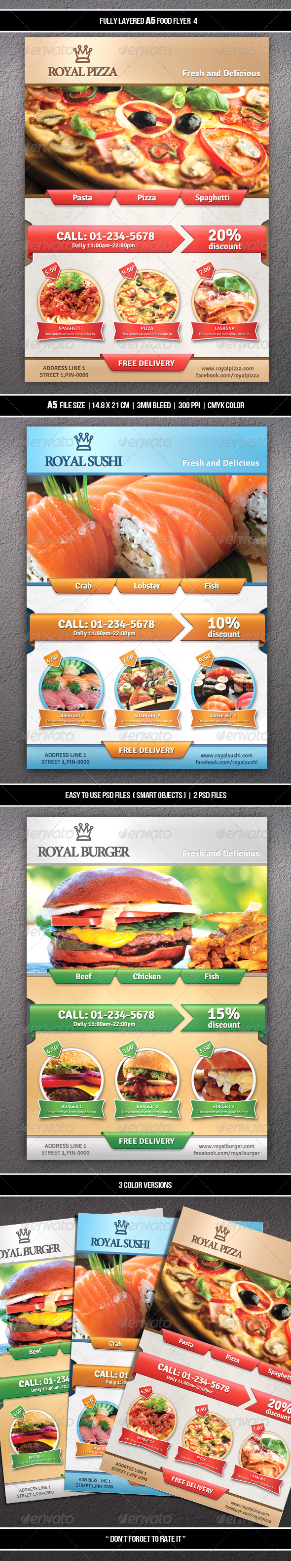 Food Flyer 4 (A5)