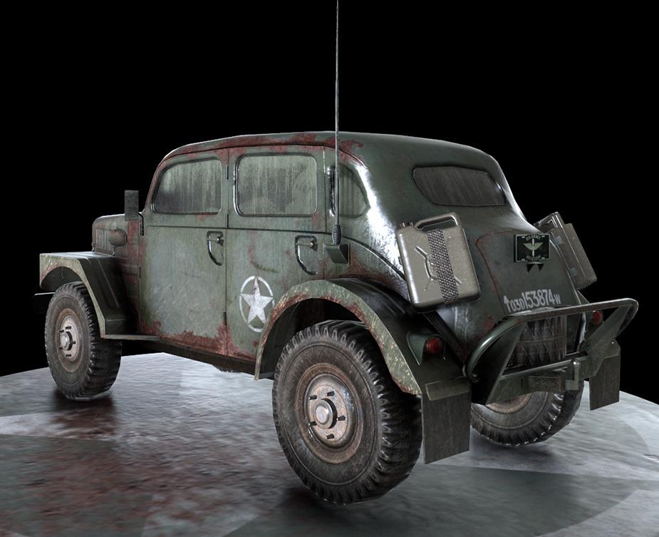 Ww2 Military Vehicle Volvo By Manutomar 3docean