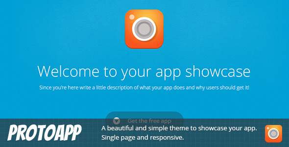 ProtoApp – Responsive Single Page App Showcase