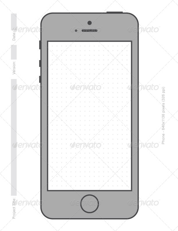 photo relating to Printable Phone titled Uncomplicated Cellphone Printable Vector Templates