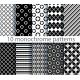Ten Seamless Monochrome Pattern - GraphicRiver Item for Sale