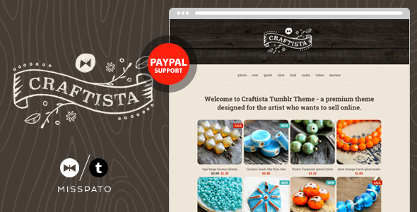 Craftista – eCommerce Tumblr Theme