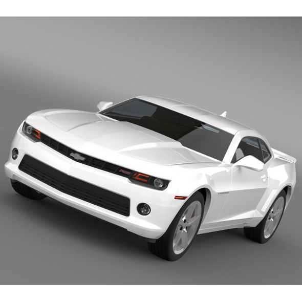 Chevrolet Camaro RS 2014 - 3DOcean Item for Sale