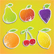 Fruit Stickers - GraphicRiver Item for Sale