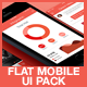 Flat Mobile App UI - GraphicRiver Item for Sale