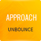 Approach - Lead Gen Unbounce Template Nulled