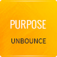 Purpose - Non-Profit Unbounce Template Nulled