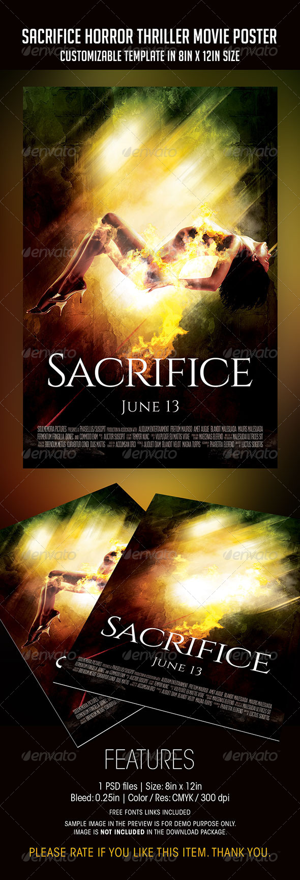 movie poster psd files free download