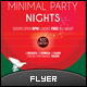 Minimal Party Flyer - GraphicRiver Item for Sale