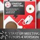 4 Startup Meeting Flyers