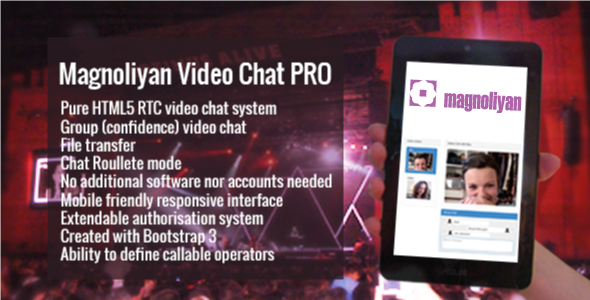 Magnoliyan Video Chat PRO - CodeCanyon Item for Sale