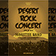 Desert Rock Concert Flyer Template - GraphicRiver Item for Sale