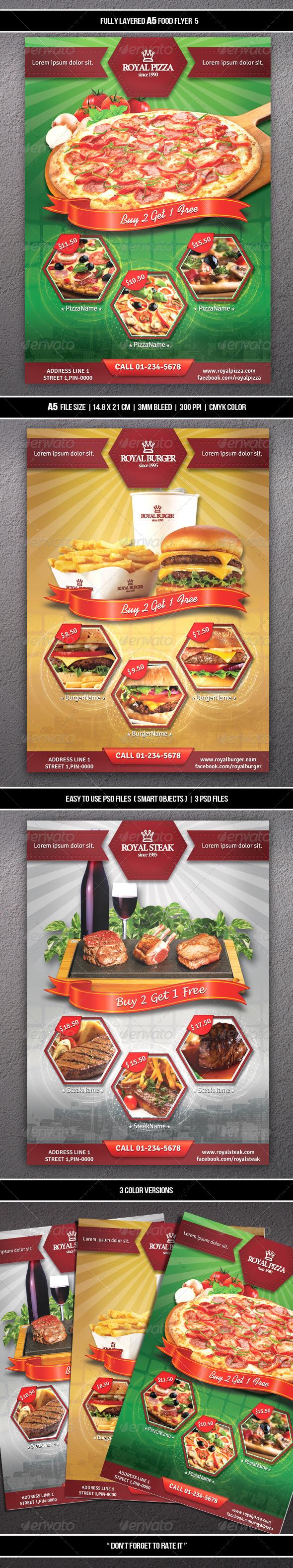 Food Flyer 5 (A5)