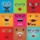 Set of Hipster Monster Eyes - GraphicRiver Item for Sale