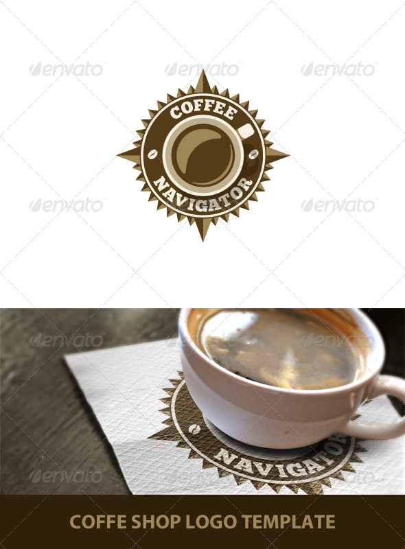 Coffee Shop Logo Template - Objects Logo Templates