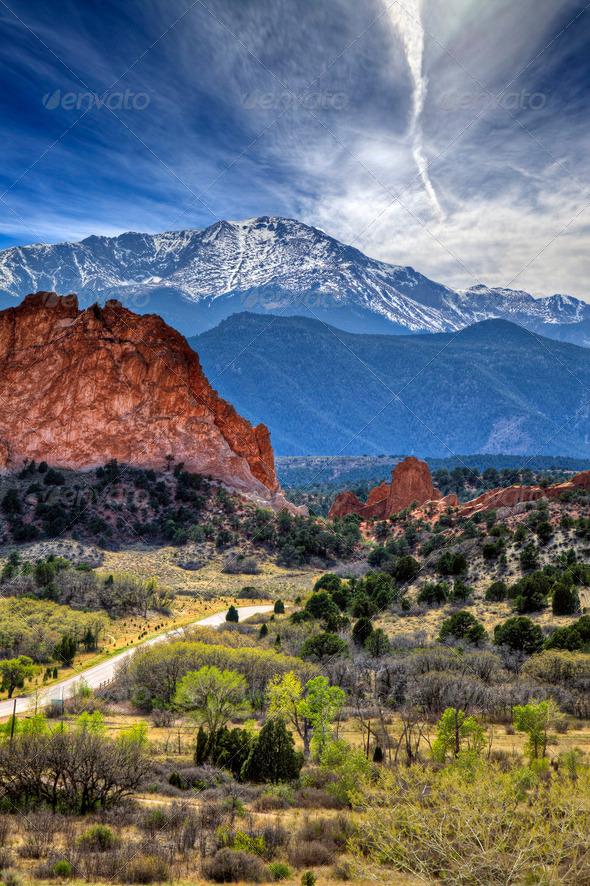 Garden of the Gods - Stock Photo - Images