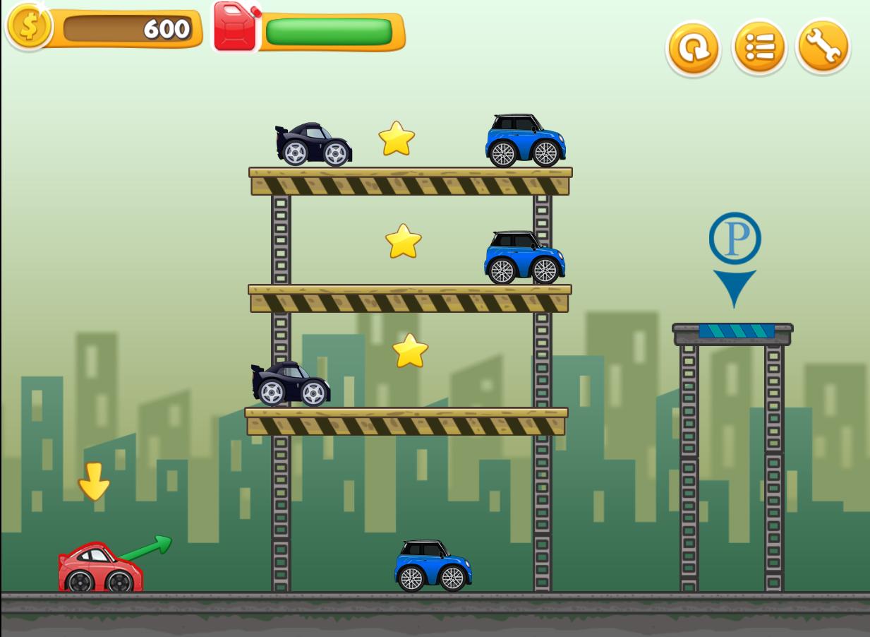 CrazyParking-Html5 Game
