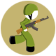Stickman Military Force Sprite Sheets - GraphicRiver Item for Sale