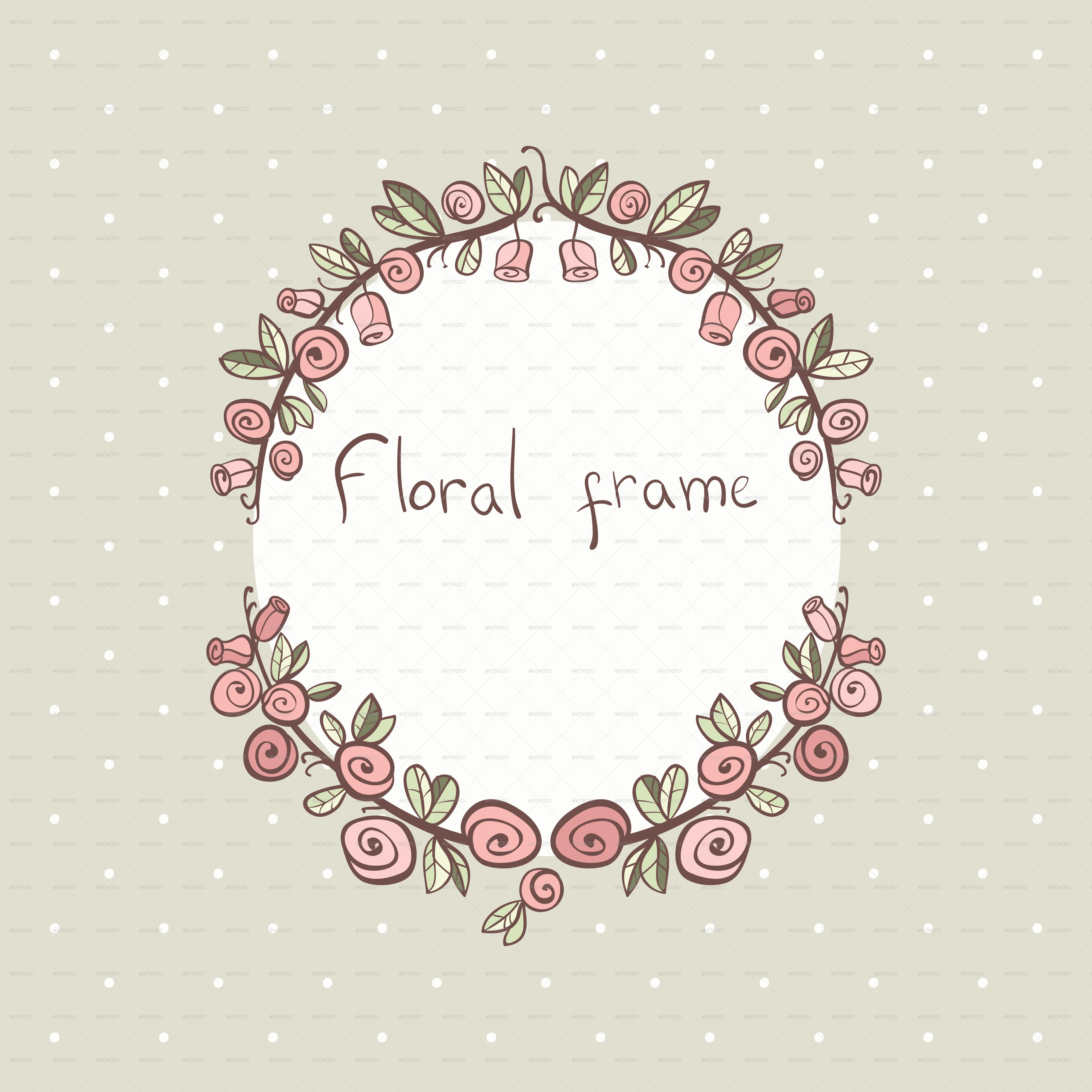 Floral Frames by Dinkoobraz   GraphicRiver