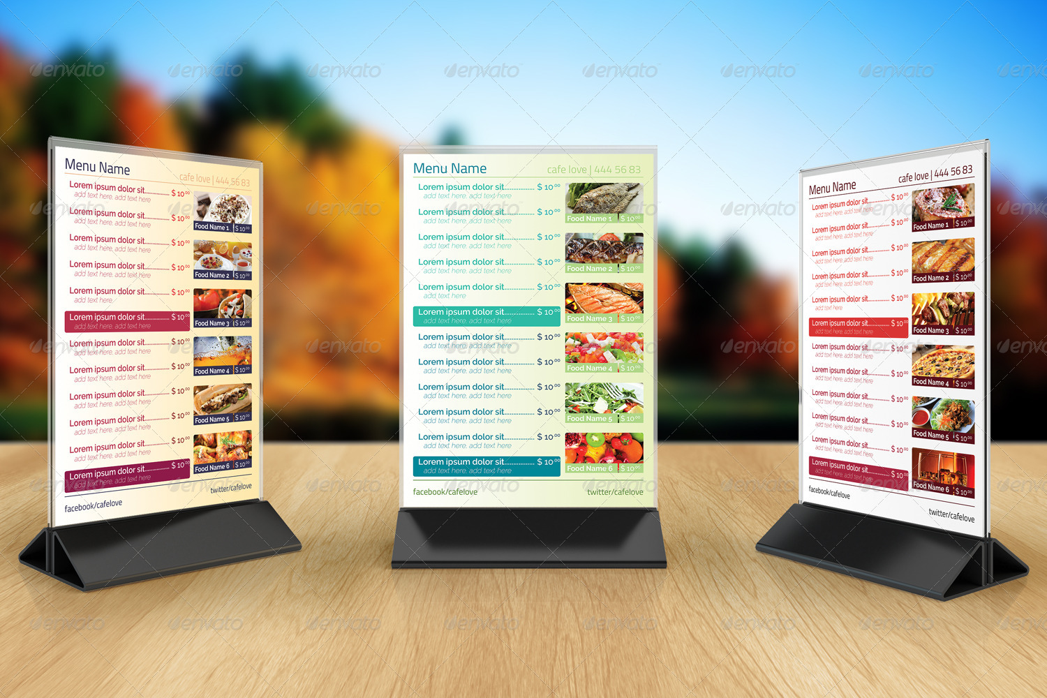 Preview Image Set/01_preview1.jpg ... : table tent menu - memphite.com