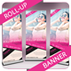 Fashion Roll-Up Banner - GraphicRiver Item for Sale