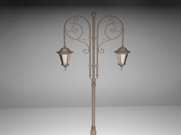 Street lamp - 3DOcean Item for Sale