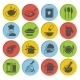 Cooking Icons Set - GraphicRiver Item for Sale