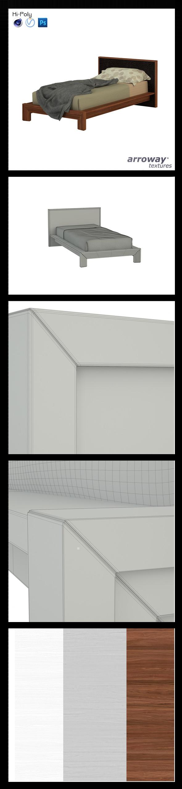 Triant Brown 702 Hi-Poly - 3DOcean Item for Sale