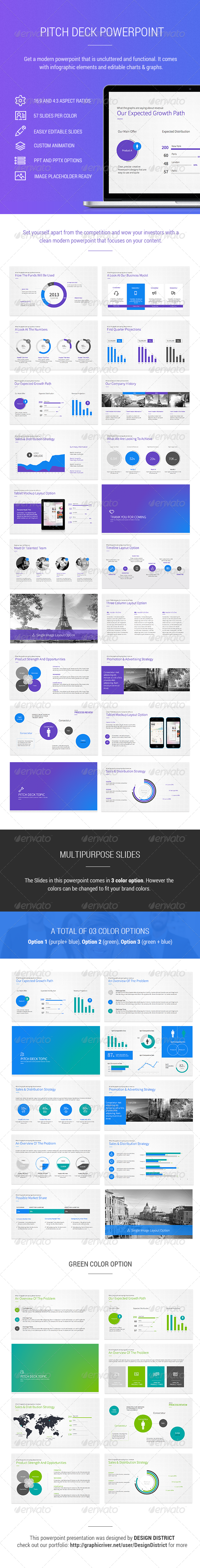 Pitch deck powerpoint by designdistrict graphicriver pitch deck powerpoint pitch deck powerpoint templates alramifo Images