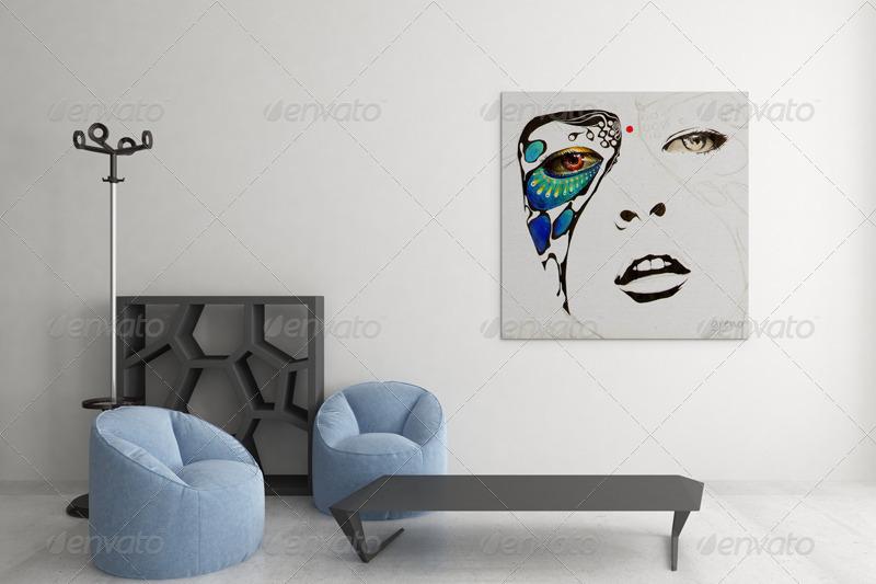 Art Wall Mockups Vol 4